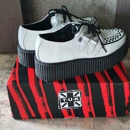 Ботинки - Женские криперы TUK (ботинки creepers), 0