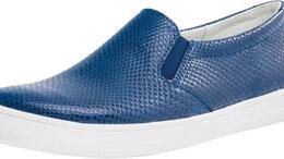 Ботинки - Котофей полуботинки синий (36), 0