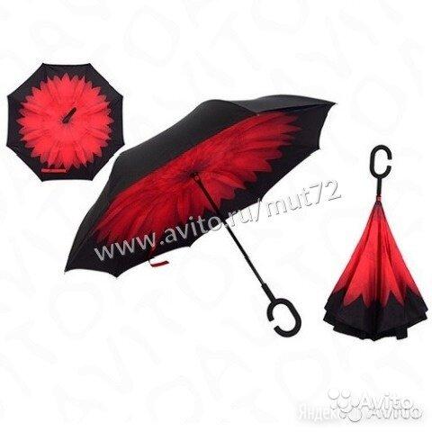 Зонт - наоборот ветрозащитный по цене 775₽ - Вещи, фото 0