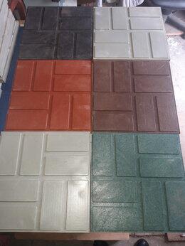 Садовые дорожки и покрытия - Плитка полимерпесчаная садовая  250х250 и 330х330, 0