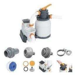 Фильтры, насосы и хлоргенераторы - 58497 Bestway Песочный фильтр-насос 5678л/ч,…, 0