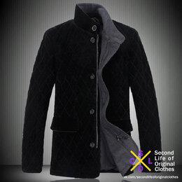 Пальто - Полупальто бархатное, 0