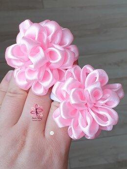 Украшения для девочек - Розовые бантики , 0