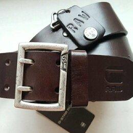 Ремни, пояса и подтяжки - Ремень кожаный G-Star Raw, 0