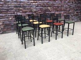 Мебель для учреждений - Барные стулья для кафе, 0