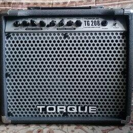 Гитарное усиление -  Гитарный Комбоусилитель Torque TG 208 40W, 0