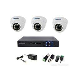 Камеры видеонаблюдения - Комплект на 3 камеры Matrix Tech (Full hd) 2мр., 0