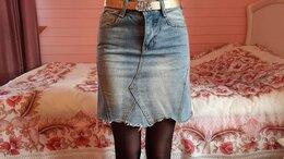 Юбки - Юбка джинсовая, 0