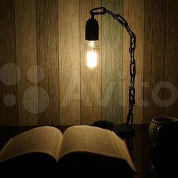 Настольные лампы и светильники - Лампа настольная в стиле лофт loft, 0