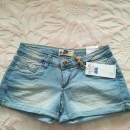 Шорты - Шорты джинсовые новые, с этикеткой, размер XXS, 0