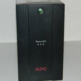 Источники бесперебойного питания, сетевые фильтры - ИБП APC 800 BX800LI, 0