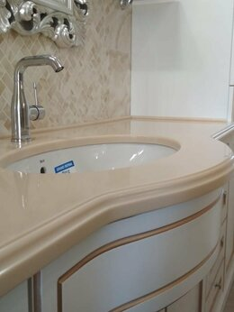 Комплектующие - Столешницы для Ванной комнаты из искусственного…, 0