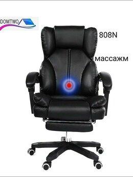 Компьютерные кресла - Компьютерное Гeймeрcкoe кресло, с массажером, 0
