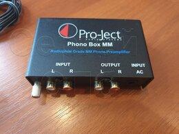 Проигрыватели виниловых дисков - Pro-Ject phono Box MM Фонокорректор для винила, 0