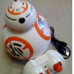 """Радиоуправляемые игрушки - Детский радиоуправляемый робот-дроид BB-8 STAR BALLS (STAR WARS """"ЗВЕЗДНЫЕ ВОЙНЫ"""", 0"""