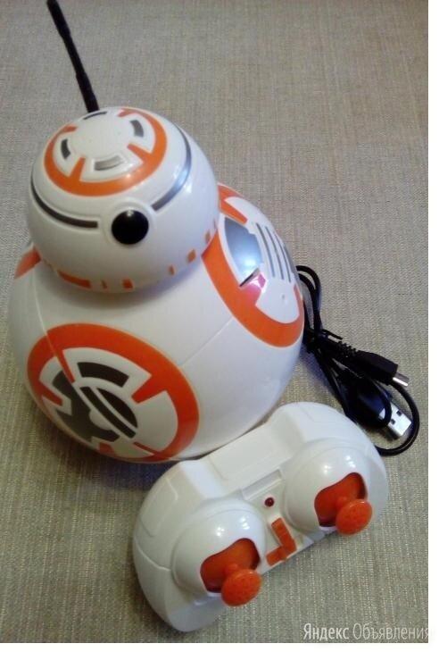 """Детский радиоуправляемый робот-дроид BB-8 STAR BALLS (STAR WARS """"ЗВЕЗДНЫЕ ВОЙНЫ"""" по цене 1250₽ - Радиоуправляемые игрушки, фото 0"""