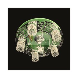 Люстры и потолочные светильники - КаталогЛюстрыКосмос>6231/5+1 GR+CR, 0