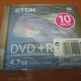 Диски - Диски DVD+R/DVD+RW TDK,Verbatim,Philips, 0