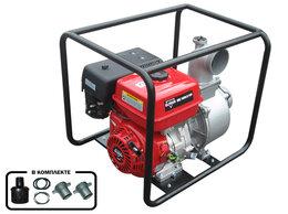 Мотопомпы - Мотопомпа бензиновая Elitech МБ 1600Д100, 0