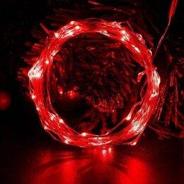 Светодиодные ленты - Лента светодиодная 5м (USB) Красная  (L08), 0