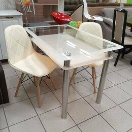 Столы и столики - Кухонный стол стеклянный , 0