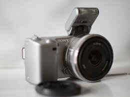 Фотоаппараты - sony nex 5 + sony 16mm 2.8 , 0