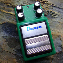 Процессоры и педали эффектов - Ibanez TS9DX Turbo TubeScreamer (Япония), 0