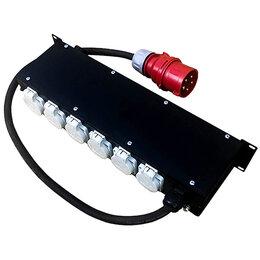Оборудование для звукозаписывающих студий - Дистрибьютор питания, рэковый, EDS   RC407, 0