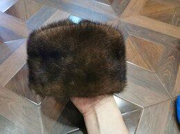 Головные уборы - Норковая мужская шапка, 0
