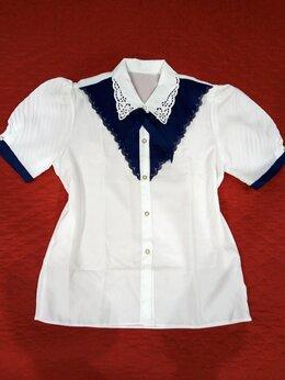Блузки и кофточки - Новая блуза с ажурным воротничком , 0