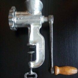 Мясорубки - Мясорубка СССР металлическая, 0