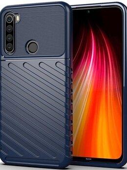 Чехлы - Чехол защитный синего цвета на Xiaomi Redmi Note…, 0