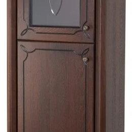 Шкафы, стенки, гарнитуры - Шкаф пенал Грация Люкс-60 массив дуба вишня лев., 0