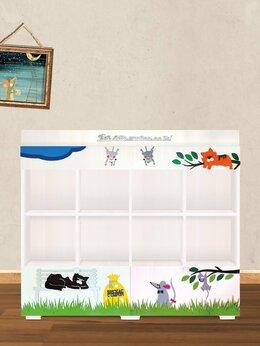 Стеллажи и этажерки - Стеллаж для игрушек и книг в детскую, 0