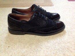 Ботинки - Ботинки броги кожа Италия р.38, 0