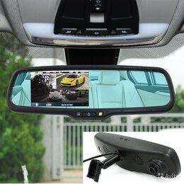 Видеокамеры - Зеркало-видеорегистратор HD DVR, 0
