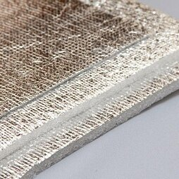 Изоляционные материалы - ППИ-ПЛСК 5мм*1000мм*25м GLOBEX (самоклейка металлизированная) рулон 25 м2, 0