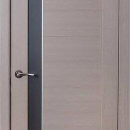 Входные двери - Дверь 90см ДО «Пиано» капучино ПВХ, 0