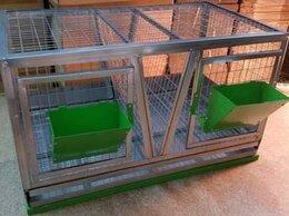 Клетки и домики  - Клетка для кроликов с кормушками, 0