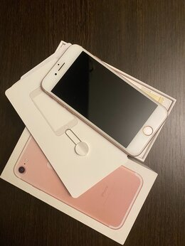 Мобильные телефоны - iPhone 7 Rose Gold, 0