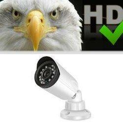 Камеры видеонаблюдения - Уличная HD-AHD камера видеонаблюдения, ночного видения, 0