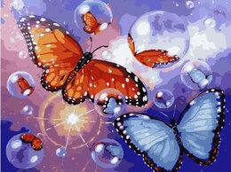 Раскраски и роспись - Картины по номерам Paintboy Яркие бабочки, 0