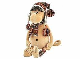 Мягкие игрушки - Обезьяна ИРМА, 25 см, ORANGE TOYS, exclusive, 0