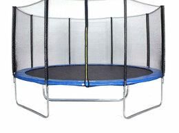 Надувные комплексы и батуты - Coolwalk Каркасный батут с сеткой 183х183х210 см, 0