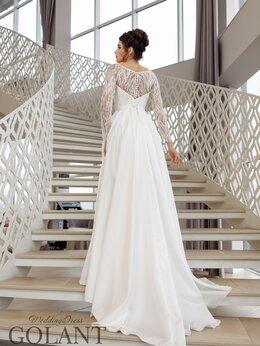 Платья - Атласное закрытое свадебное платье Федерика…, 0