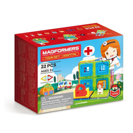 Конструкторы - магнитный конструктор Magformers Town Hospital…, 0