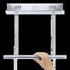 Подвесной светильник Eglo Cardito 1 93625 по цене 34990₽ - Настенно-потолочные светильники, фото 2