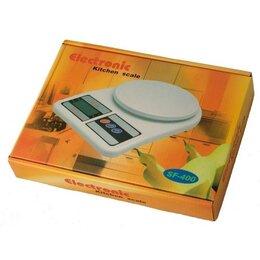Кухонные весы - Весы кухонные электронные SF-400, 0