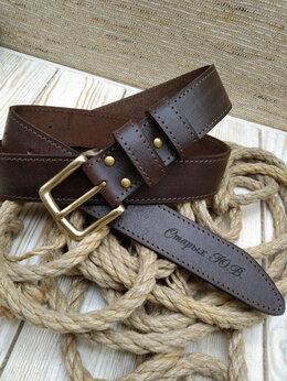 Ремни и пояса - Ремень кожаный ручной работы , 0