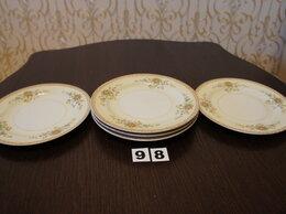 Тарелки - Тарелки обеденные мелкие 5 шт. JAPAN PATRICIA., 0